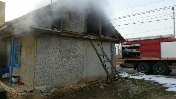 Incendiu la Ceamurlia de Jos
