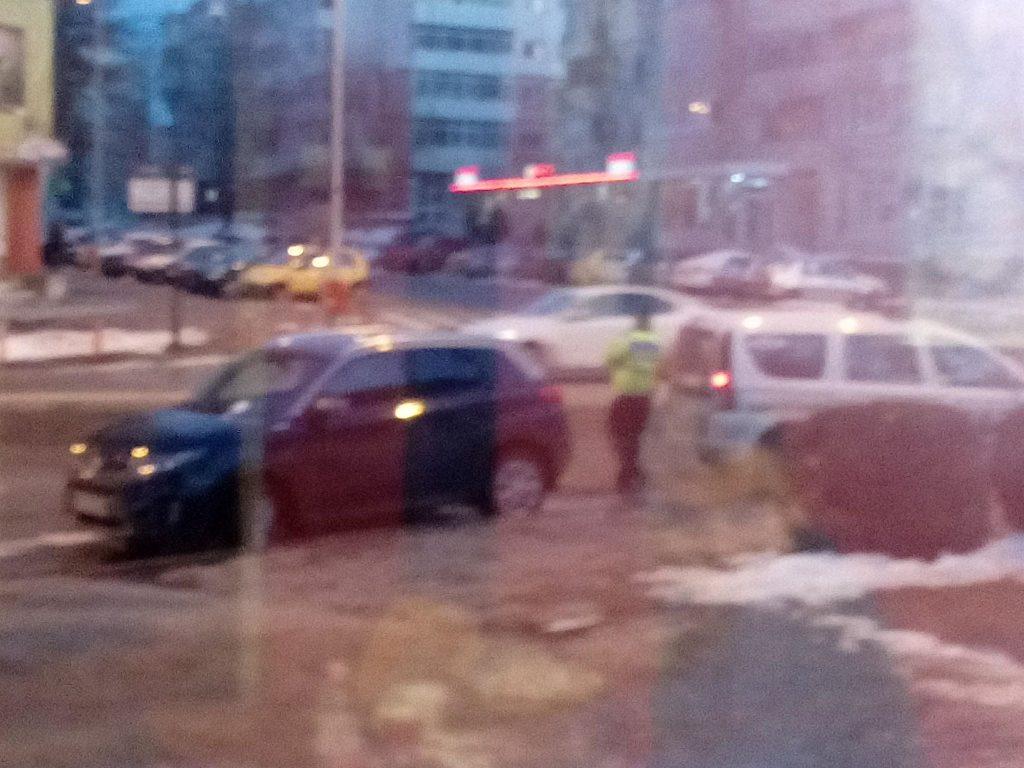 Primarul Hogea, amendat de poliţia rutieră