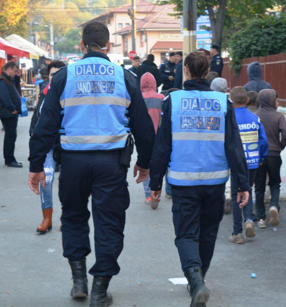 Jandarmii tulceni asigură ordinea publică în perioada Sărbătorilor Pascale