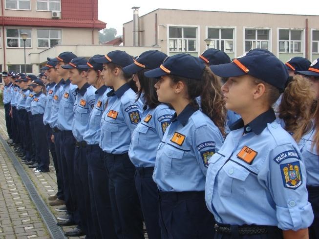 Au început înscrierile pentru examenul de admitere în şcolile de poliţie şi academie