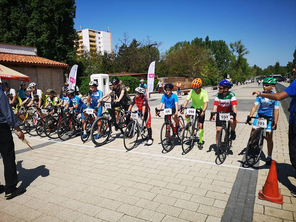 Micii ciclişti tulceni, pe podium la Cupa Mării Negre