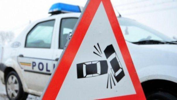 Accident la Somova! Doi răniți și o mașină răsturnată