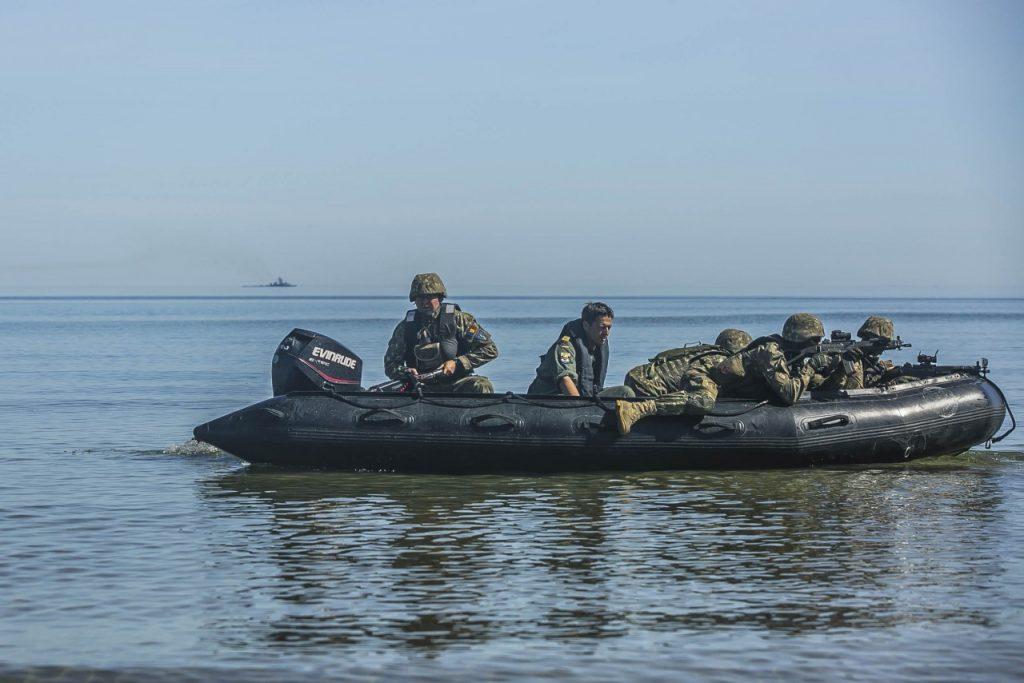 Infanteriștii marini s-au întors de la