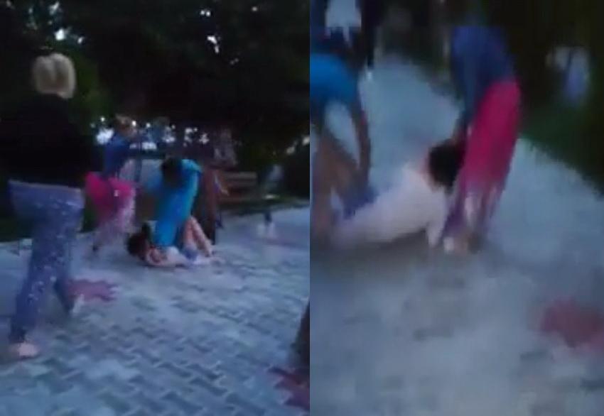 O tânără din Babadag, călcată în picioare de o gașcă de femei rrome. Poliția a cerut sprijinul jandarmeriei pentru a aduce agresorii la audieri