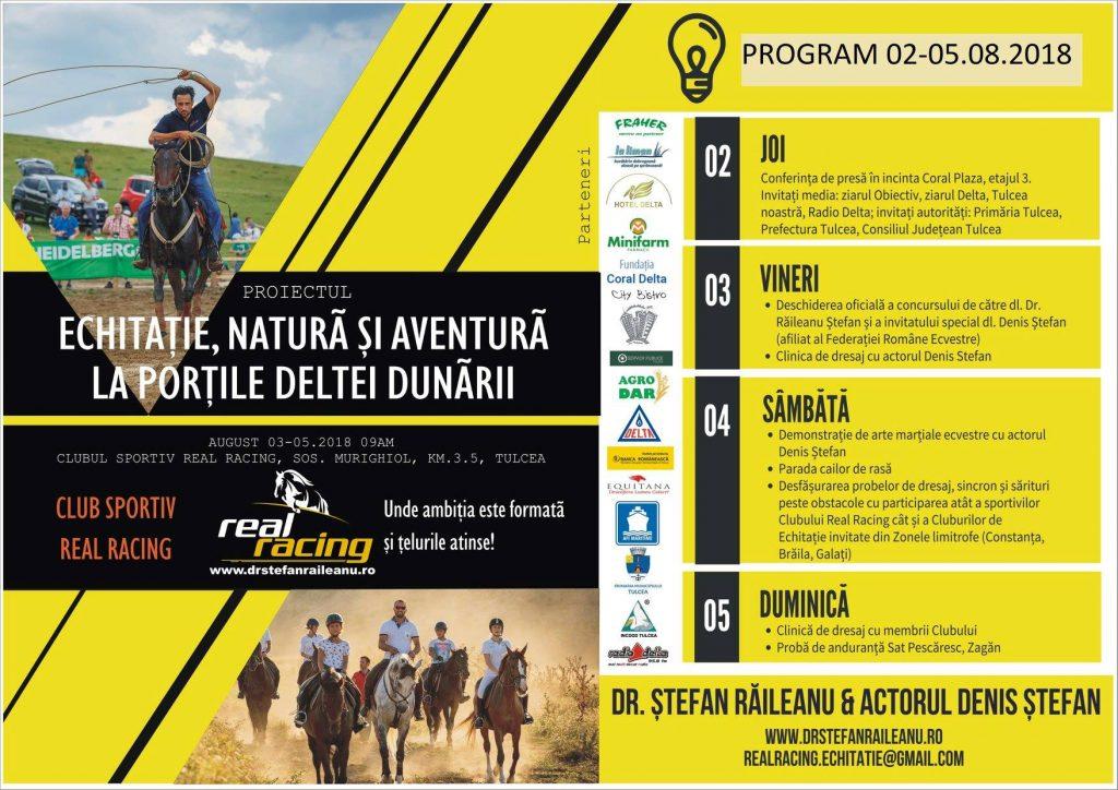 Real Racing vă invită la competiţia hipică zonală