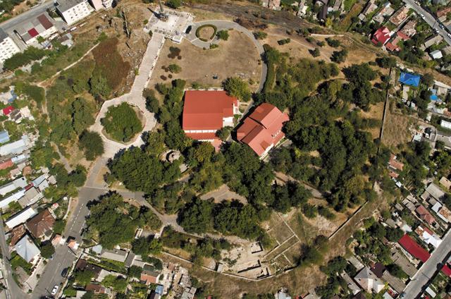 Parcul arheologic Aegyssus IV, la Muzeul de Istorie și Arheologie