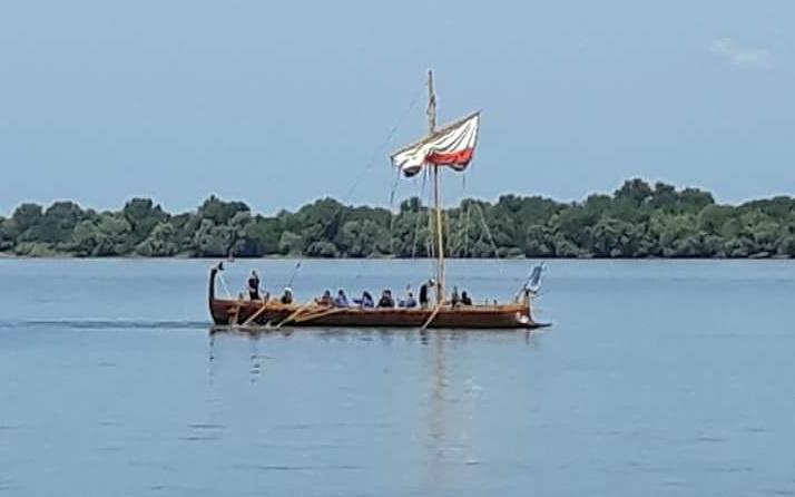 Un vas roman de război, prezent la Tulcea, de Ziua Marinei