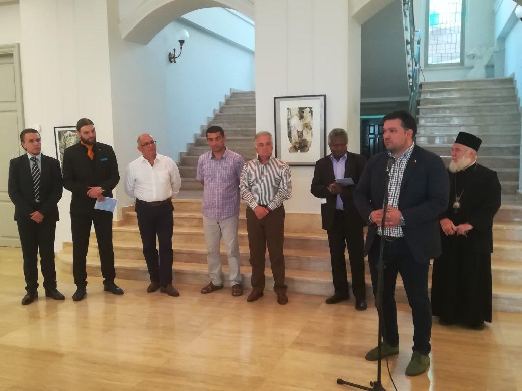 Vernisajul Bienalei Internaționale de Gravură Danubius, la Muzeul de Artă