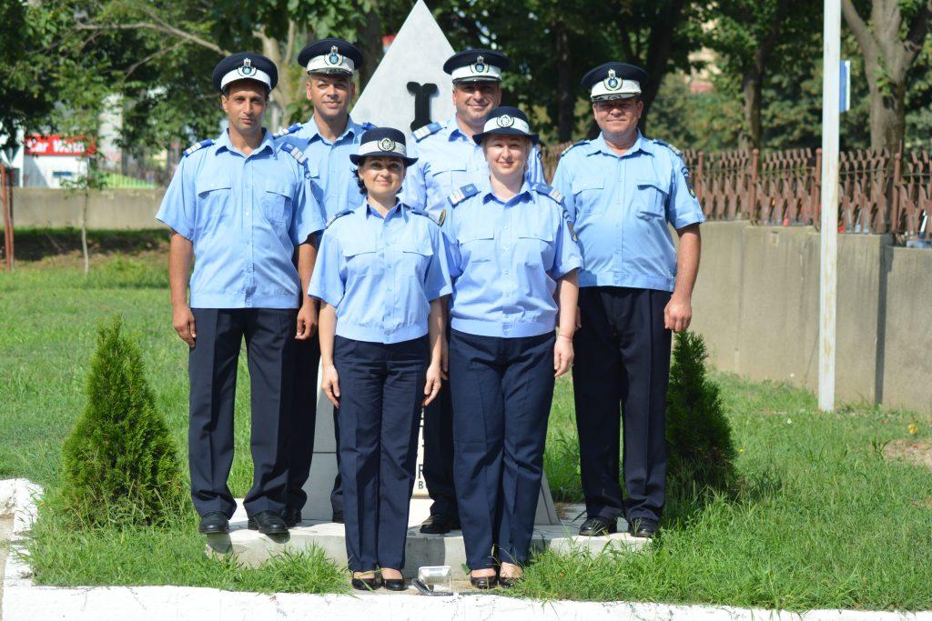 Ceremonie de avansare în grad la Inspectoratul de Jandarmi Judeţean Tulcea