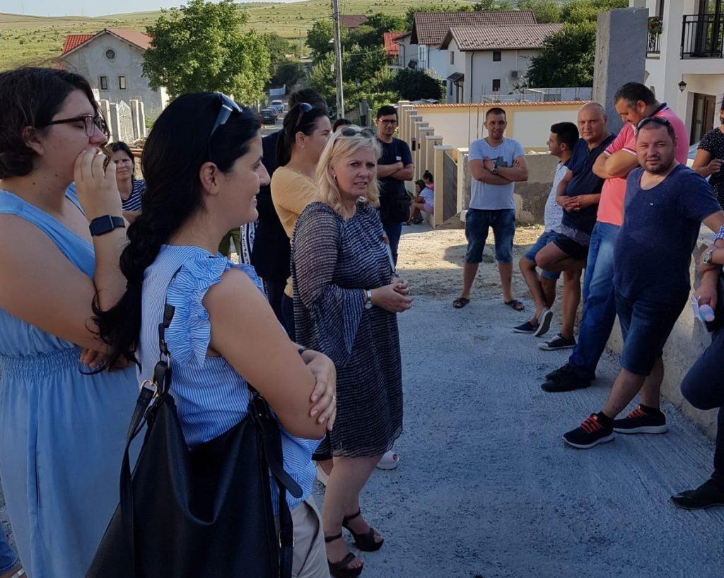Tulcenii din cartierul Sud Vii - Mesteceni, vor să trăiască
