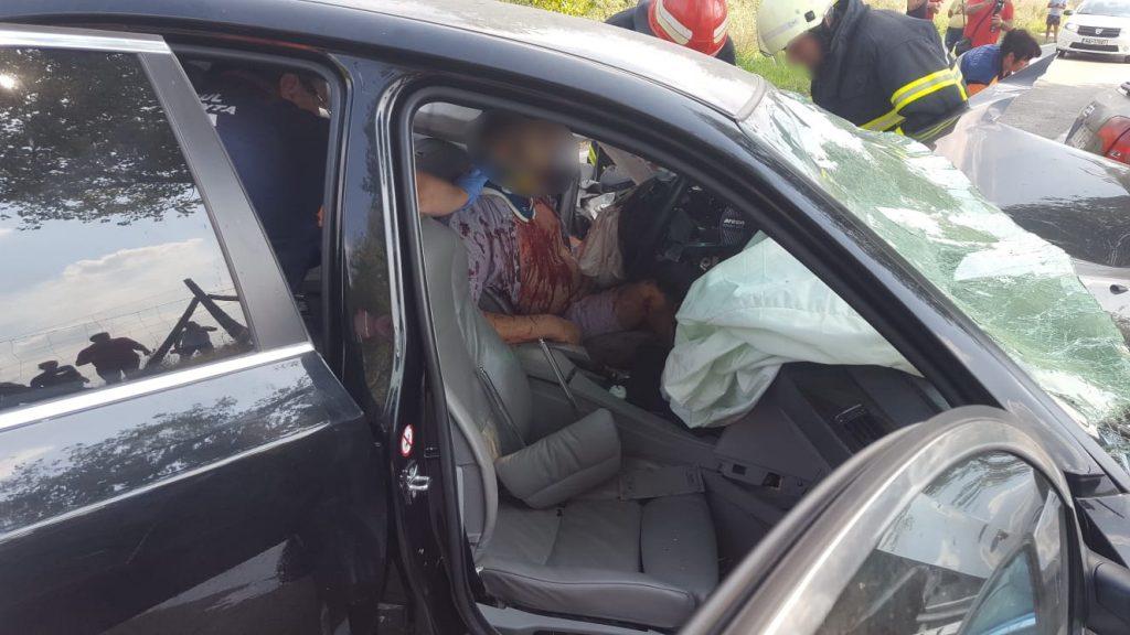Un rănit din accidentul de ieri a fost transferat la spitalul din Constanța