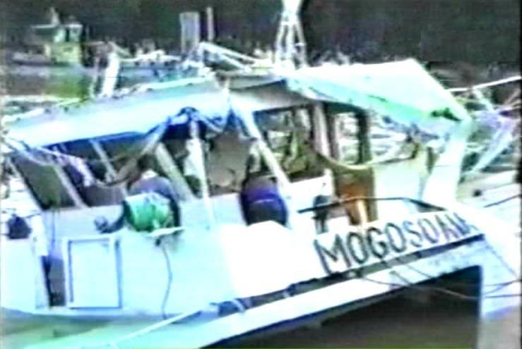 30 de ani de la scufundarea navei Mogoșoaia - bilanț 207 morți