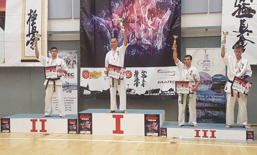 Luptătorul Ionuț Vișan de la Nippon Budo Sport Tulcea a câștigat locul doi la