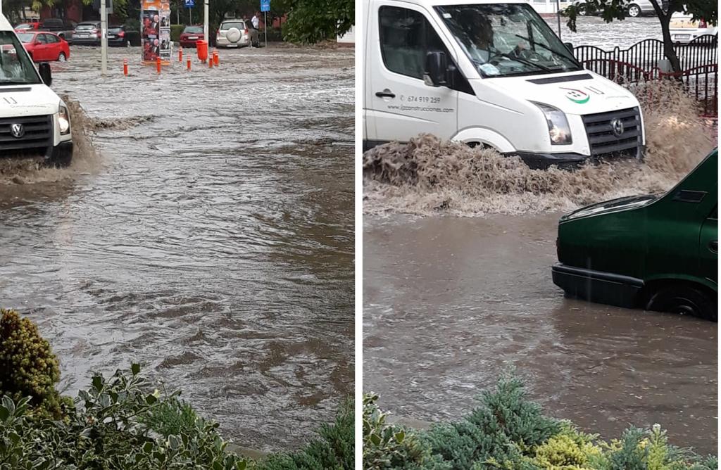 Tulcea după fiecare ploaie : Mica Veneție de la porțile Deltei Dunării