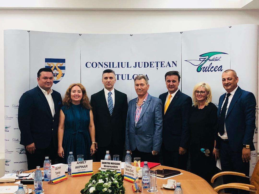 Compania Turkish Airlines este interesată de extinderea activității în județul Tulcea