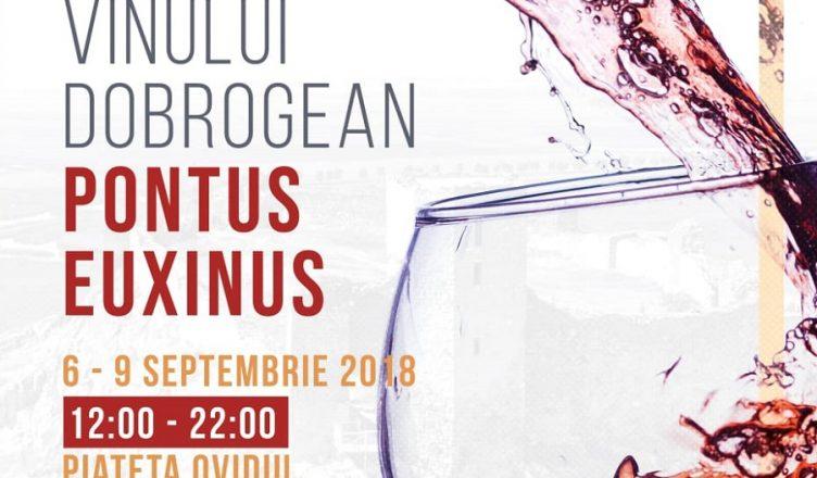 Festivalul Vinului Dobrogean Pontus Euxinus, în Piața Ovidiu, din Constanța