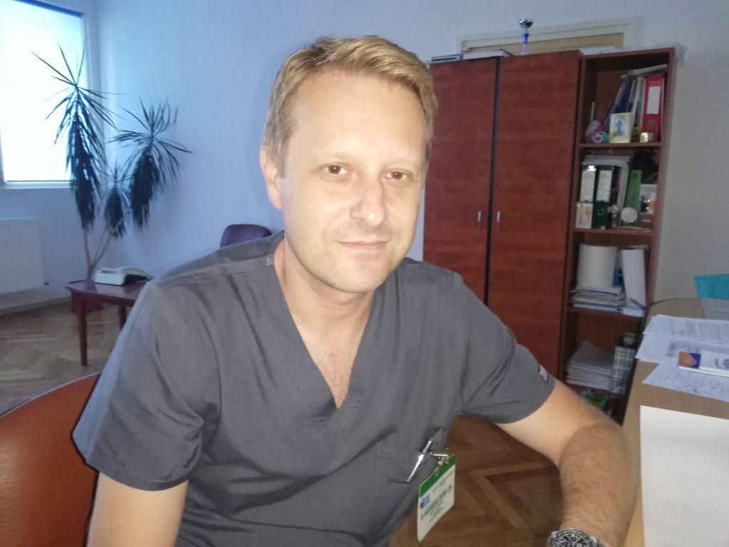 Medicul Tudor Năstăsescu rămâne managerul Spitalului Judeţean pentru încă patru ani