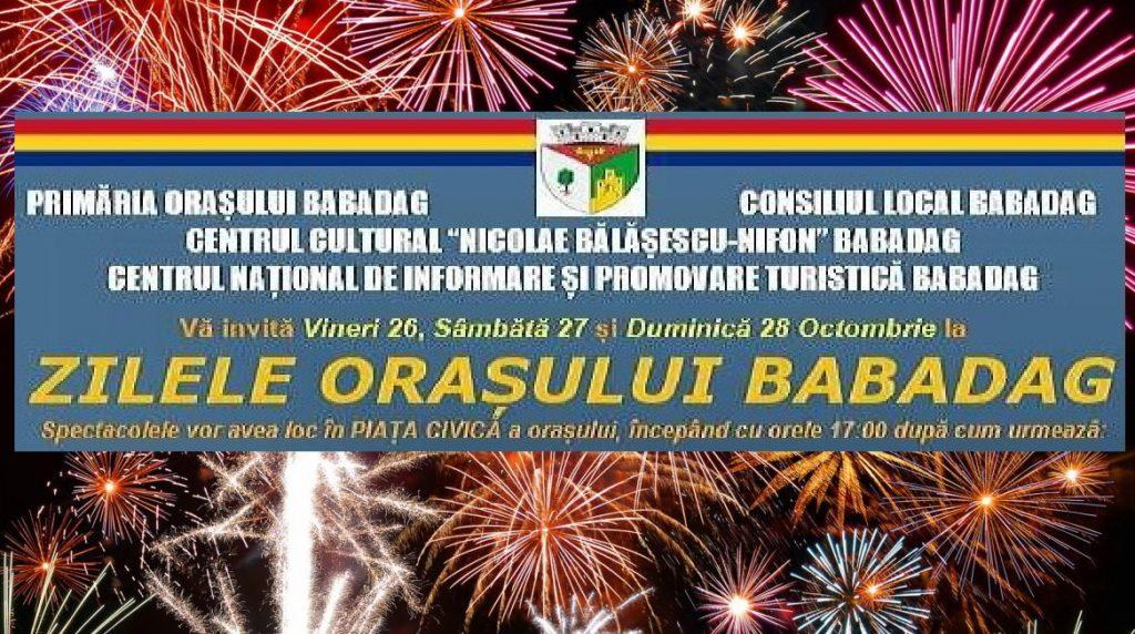 Babadagul este trei zile în sărbătoare!