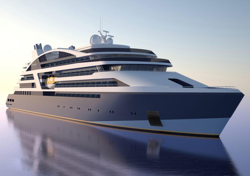 VARD lansează mâine o navă de croazieră de 131 de metri