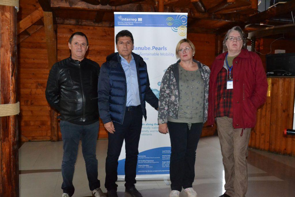 Vizită de studiu în Delta Dunării, în cadrul proiectului de mobilitate sustenabilă Transdanube-Pearls