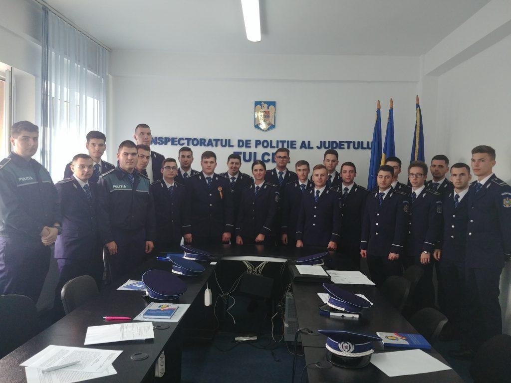 Noi agenți de poliție la IPJ Tulcea