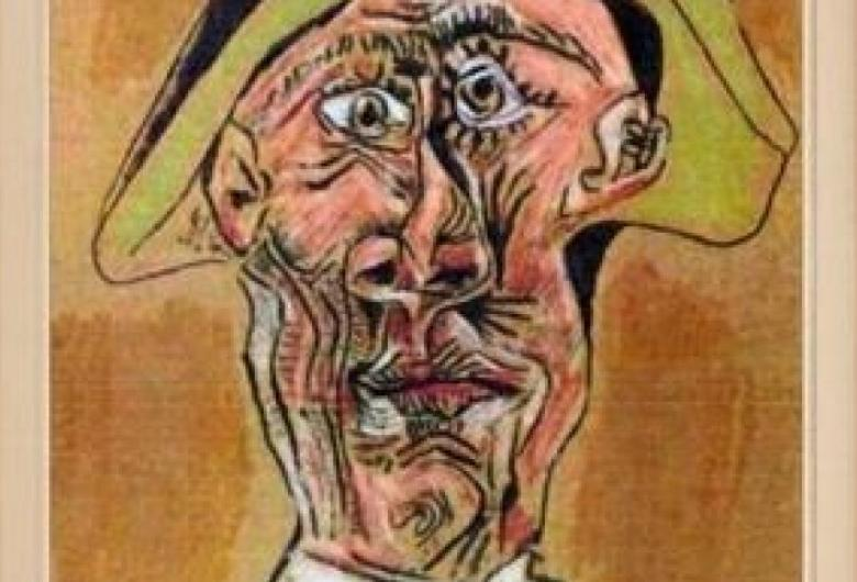 Tablou semnat Picasso descoperit la Greci, îngropat la baza unui copac, în urma unei scrisori anonime