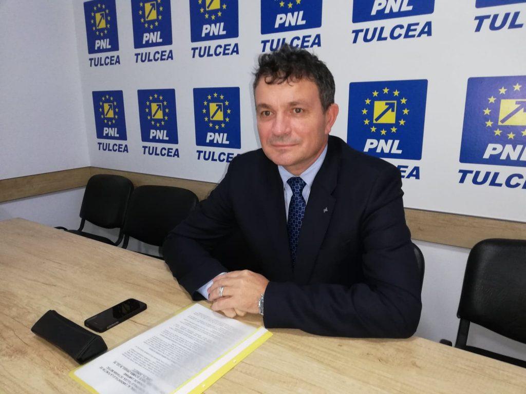 Liberalul Octavian Motoc a intrat oficial în cursa pentru candidatura la funcţia de primar al municipiului
