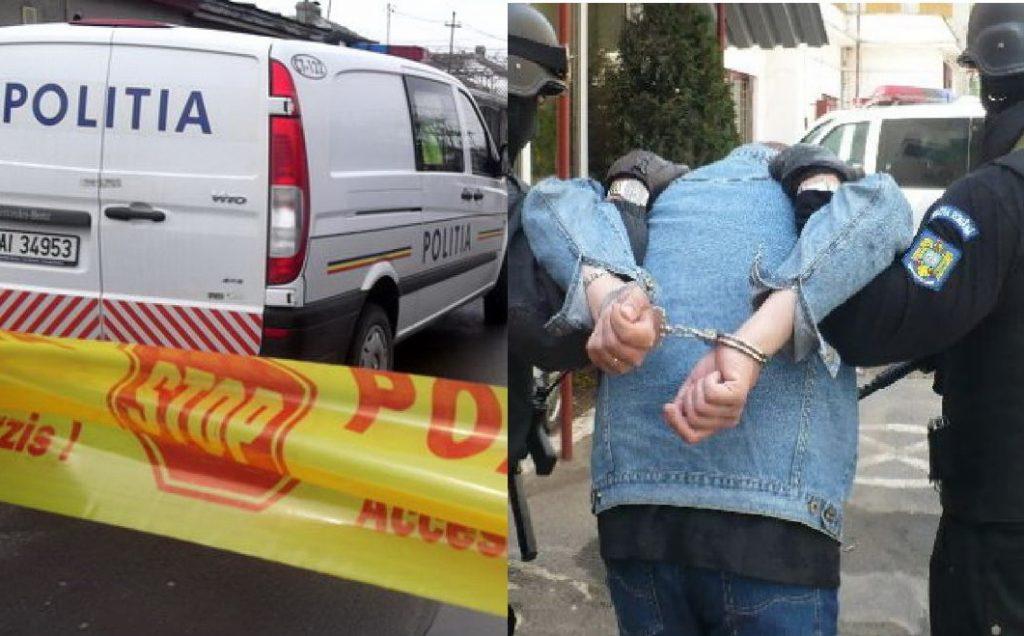 Bolnavul psihic care și-a omorât mama cu toporul la Sarichioi, a fost prins în oraș
