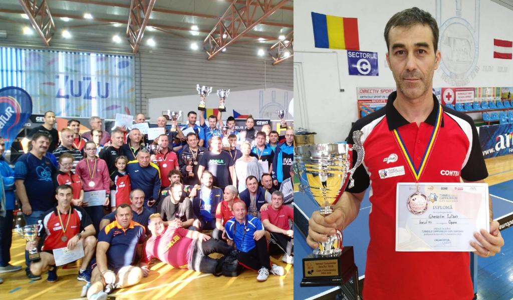 Iulian Gherasim, locul trei la