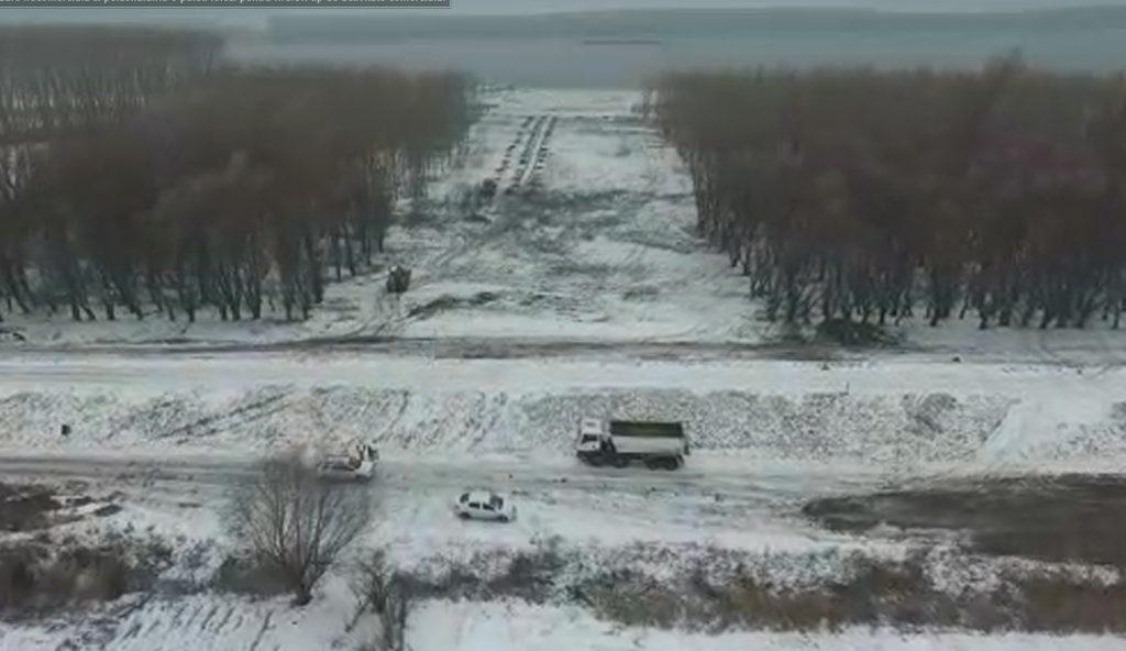 Au început lucrările la podul suspendat Tulcea - Brăila!