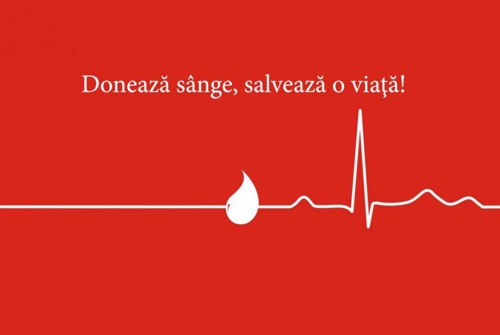 Donează sânge, salvează o viaţă!