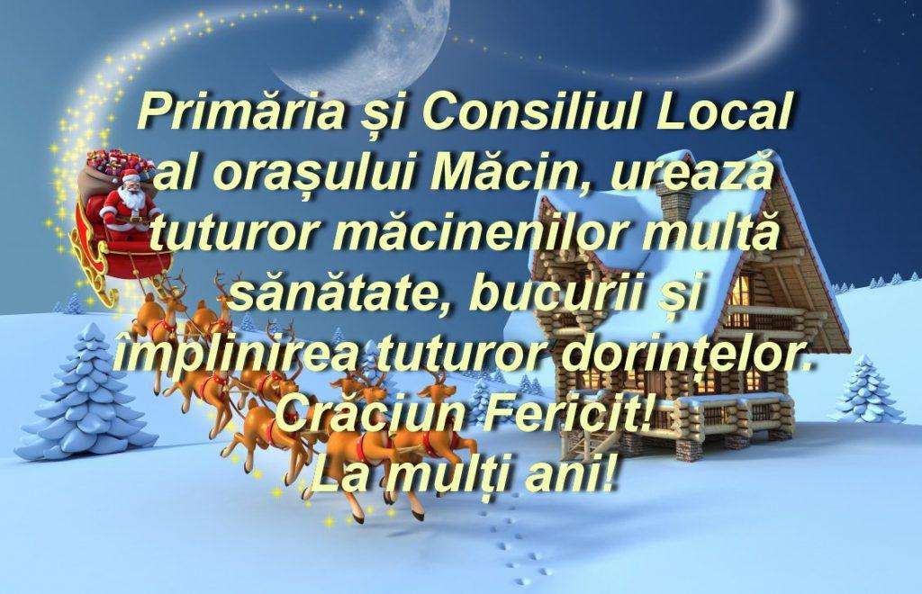 Consiliul Local şi Primăria Măcin vă urează