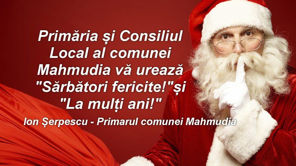 Consiliul Local şi Primăria Mahmudia vă urează