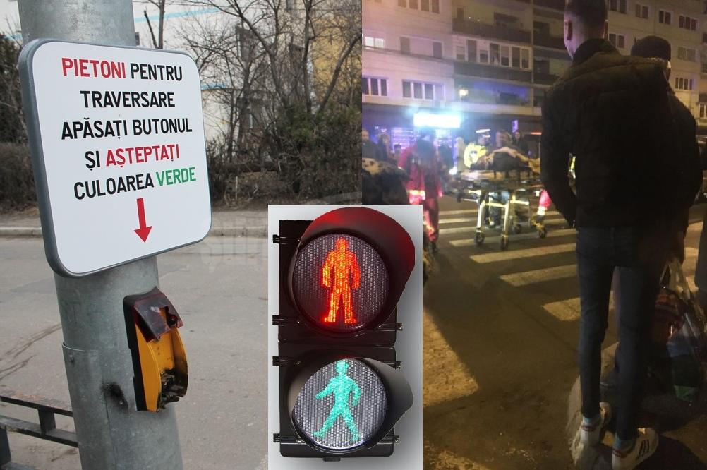 VREM semafoare cu buton pe strada Isaccei. Stop accidentelor pe trecerile de pietoni!