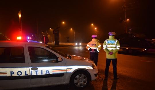 Peste 300 de poliţişti vor fi la datorie în noaptea de Anul Nou