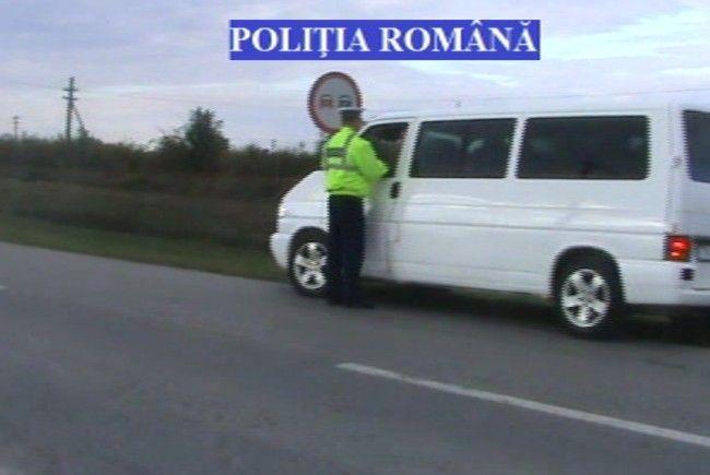 Camioanele şi autobuzele, în vizorul poliţiei rutiere