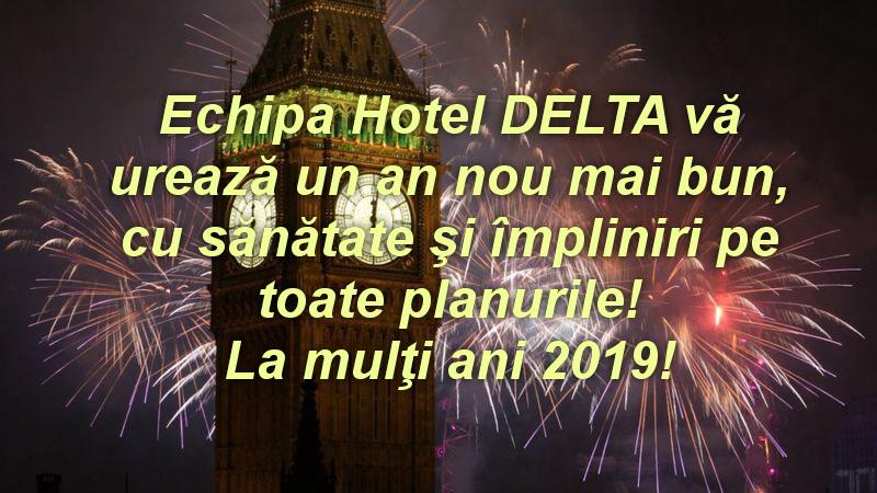 Hotel DELTA vă urează