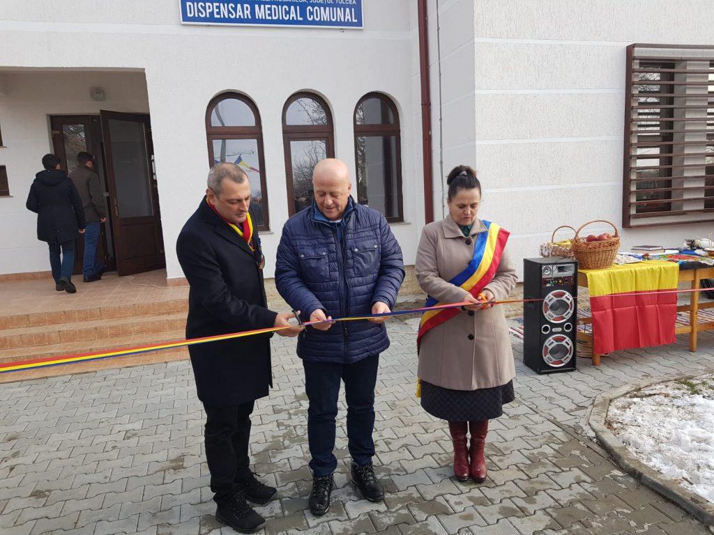 De Centenar, dispensar medical nou la Iazurile, comuna Valea Nucarilor