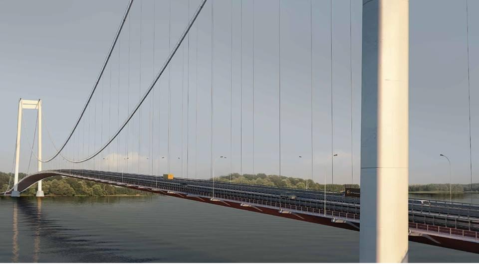 Primii bani pentru pod au fost bugetaţi