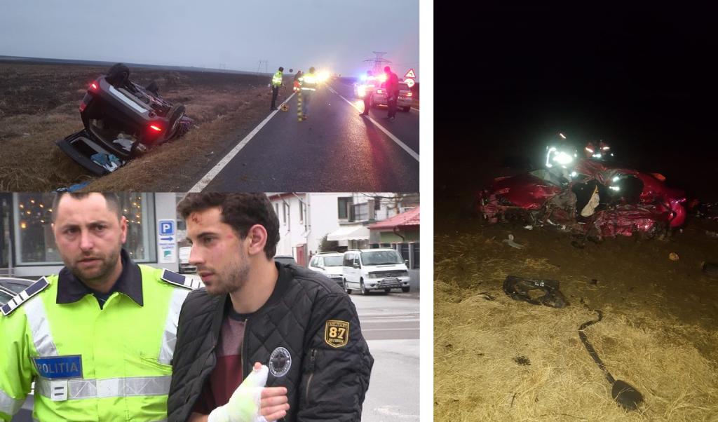 Adi şi Dragoş, tinerii care au murit în accidentul de la Palazu Mic, plânşi de sute de tulceni