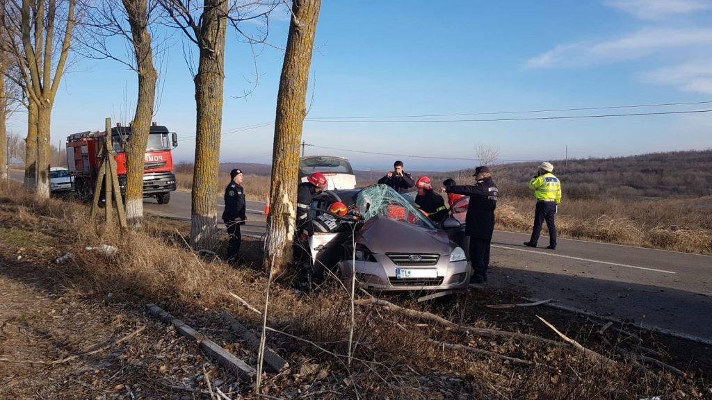 Încă un accident cu o persoană ranită pe drumul către Agighiol