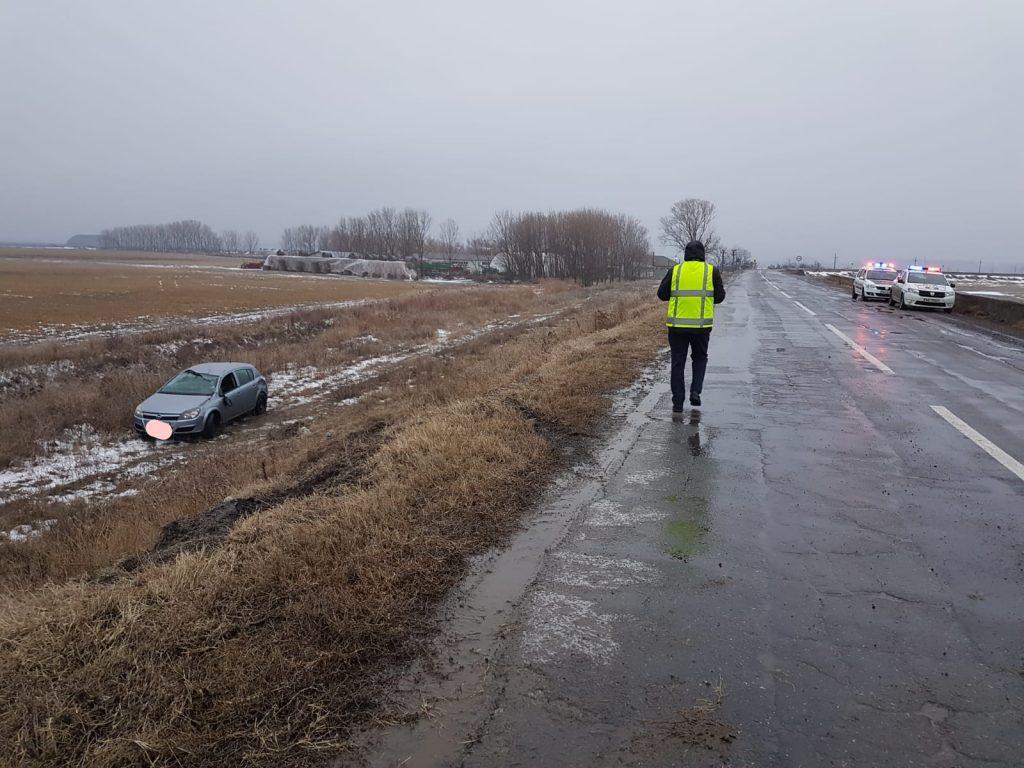 Doi răniţi în urma unui accident produs aproape de I.C. Brătianu