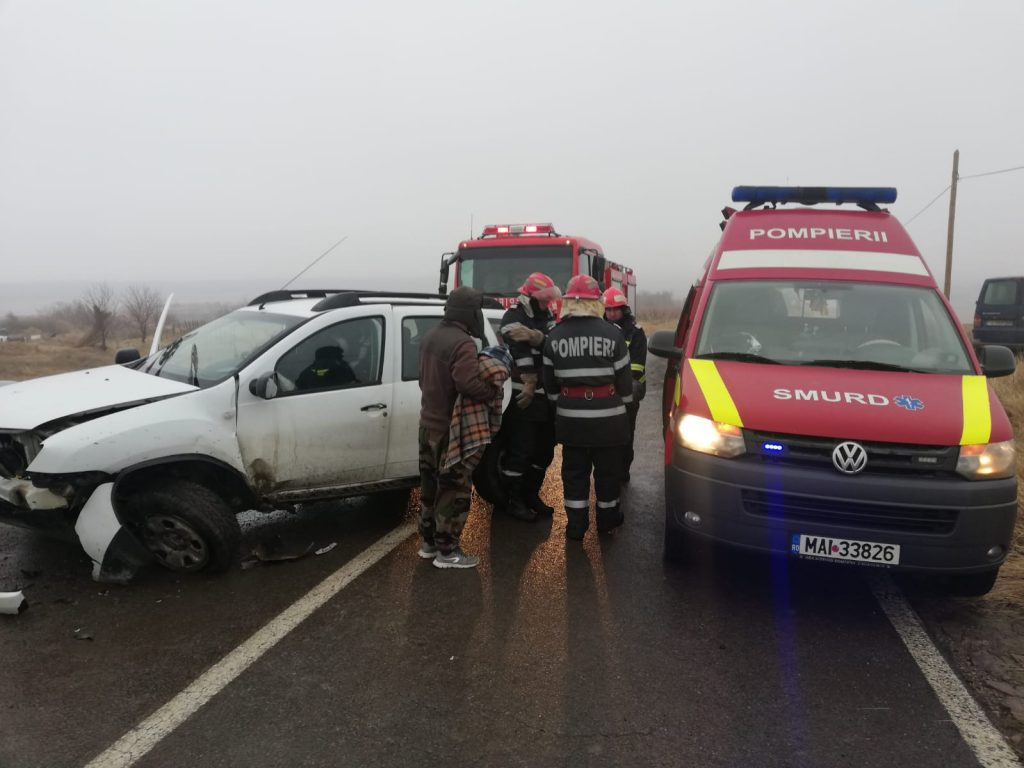 Accident pe polei la Peceneaga. O femeie a fost rănită