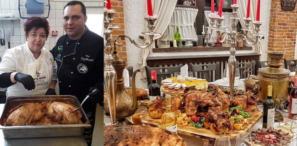 Chef tulcean la Revelionul Bucătarilor, la Orlat, în Mărginimea Sibiului (+galerie foto)