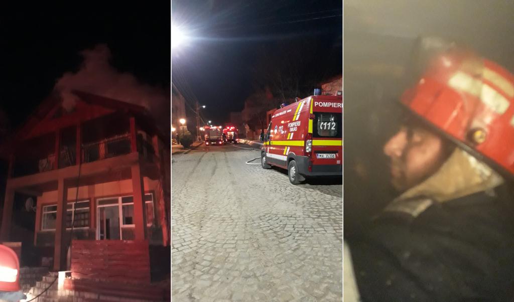 Incendiu la Greci. Pompierii intervin cu trei autospeciale