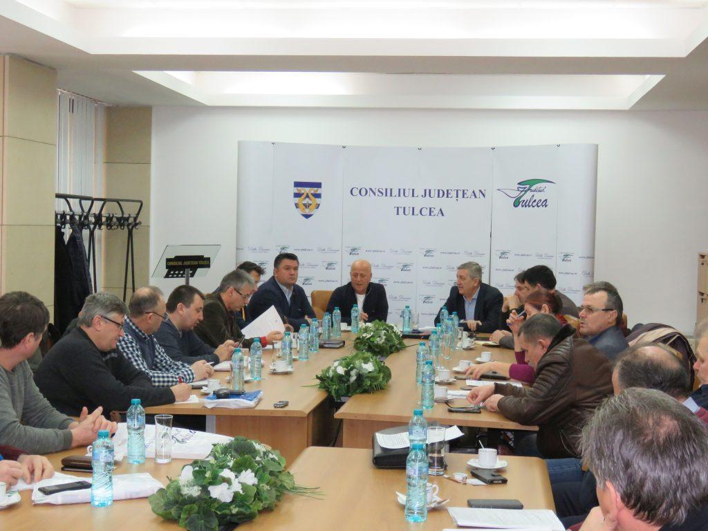 Întâlnire de lucru privind noutățile legislative aplicate în Rezervația Biosferei Delta Dunării