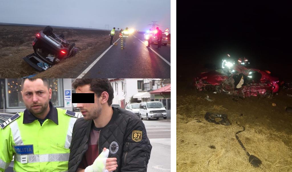 Cel care i-a omorât pe Cici şi Dragoş în accidentul de acum o lună, lângă Palazu Mic, a fost eliberat azi din arest
