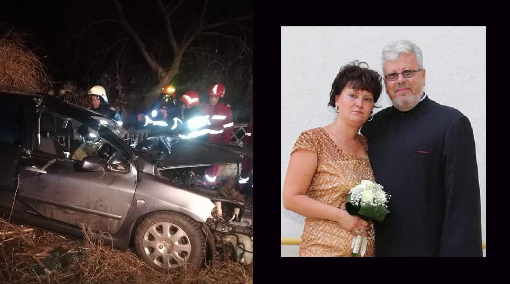 Preotul din Peceneaga şi soţia sa au murit azi dimineaţă într-un grav accident rutier în judeţul Ialomiţa