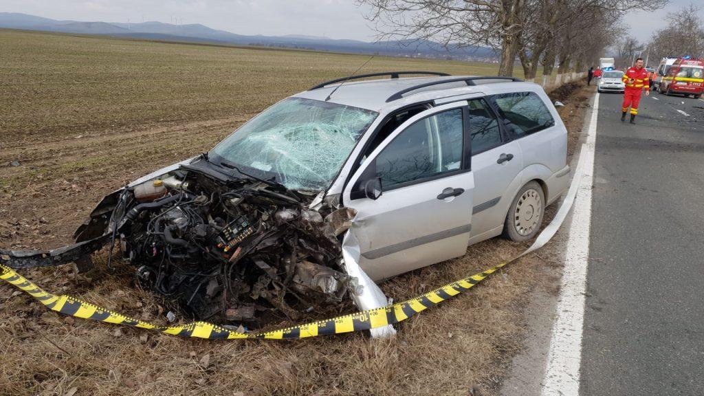 Accident grav lângă Nalbant. Două persoane au fost rănite