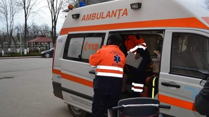 Copil de opt ani, accidentat la Sălcioara